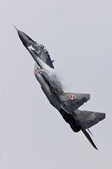Mikoyan-Gurevich MiG-29A - 5 (NickJ 1972) Tags: raf fairford riat royalinternationalairtattoo airshow 2016 aviation mikoyan gurevich mig29 fulcrum 108