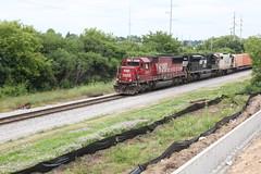 Soo rare (MILW157) Tags: soo line cp rail canadian pacific hartland watertown sub sd60 gp382 train railroad