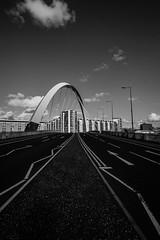 the bendy bridge (davidhamilton23) Tags: sonya77ii davidhamilton23 tokina1116mm glasgow scotland black white