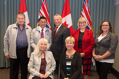 Meeting with Creston (BC Gov Photos) Tags: bcgovernment bcubcm britishcolumbia creston ubcm2016 victoria victoriaconventioncentre community economy localgovernment municipalities services