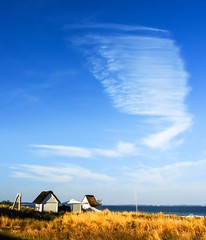 like a wing of an angel (claudia.kiel) Tags: deutschland germany ostsee balticsea timmendorferstrand strand beach dne dune himmel sky cloud wolke cloudscape landschaft landscape