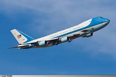JFK   VC-25A United States Air Force   82-8000 (Mickal CASTAING) Tags: gov government govjets vc25a 28000 828000 af1 airforceone obama barackobama unweek unga unga71 unga16 kjfk jfk newyork usaf usairforce unitedstatesofamerica