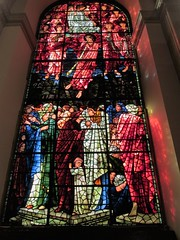 afternoon sunlight.... (bitsofalife) Tags: birmingham stchads cathedral burnejones stained glass