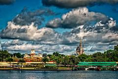 The Magic Kingdom (mdavies149) Tags: clouds florida dineyland magickingdom usa disney nikon d600 michaeldavies