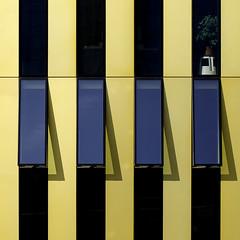 Janosh Tigerente (GER.LA - PHOTO WORKS) Tags: luxemburg architecture abstract architektur gelb geometrisch courtofjustice luxembourg europeancourtofjustice tigerente