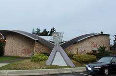 Mid-Century Architectural Detail:  Ingraham High School Auditorium, Seattle Public Schools (JoeInSouthernCA) Tags: googie
