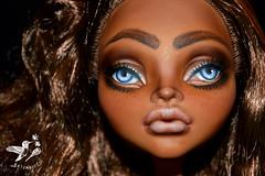 Alicia (saijanide) Tags: custom ooak repaint monster high doll mh art artist saijanide clawdeen large big faceup beauty