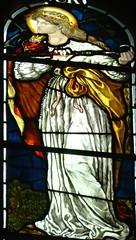 [45661] St Editha, Tamworth : Marmion Windows (Budby) Tags: tamworth staffordshire church window stainedglass preraphaelite