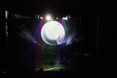 Stage set-up 1 (~nevikk~) Tags: armadillos stage lasers spotlights projectionscreens computergeneratedimages fogmachine strobelights