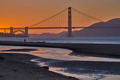 Golden Gate Bridge (AgarwalArun) Tags: sonya7m2 sonyilce7m2 sony sanfrancisco goldengatebridge goldengate bayareacalifornia iconicbridge pacificocean ocean bridge marincounty scenic views landscape reflections fog marinelayer sunset