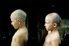. (darjastolarova) Tags: brother boy alter ego twin russia bold village canon ftb film 35mm