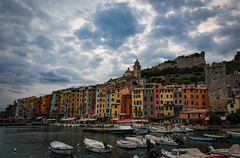 Colors in Portovenere (elisabartolini) Tags: canon canonphotography clouds cloudscape colors cityscape canonphotos canon700d beautifuldestinations beautiful houses architecture atmosphere amateurphotography boat wanderlust water wanderingaround exploring portovenere liguria landscape love outdoors cloudysky sky evening experimenting natural italy takingpictures photography passion travel seaside