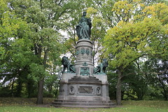 Memorial on the occasion of King Christian IX and Queen Louise golden wedding feast in 1892 (Bjrn Steiner) Tags: memorial occasion king christian ix queen louise golden wedding feast 1892