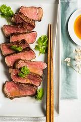 Sous Vide Steak Sash (alaridesign) Tags: sous vide steak sashimi with ponzu dressing