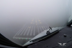 CAT IIIA Approach (gc232) Tags: avgeek aviation live from flight deck golfcharlie232 gopro land landing catiii cat3 cat iiia catiiia fog haze foggy low visibility lvp lvo runway lights autoland fg cloud clouds morning weather plane airplane aircraft jet boeing aerial airline pilot view