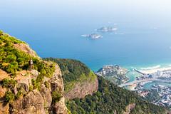 IMG_5089-3 (sergeysemendyaev) Tags: 2016 rio riodejaneiro brazil pedradagavea    hiking adventure best    travel nature   landscape scenery rock mountain    high forest  ocean   blue serenity    beautiful beauty