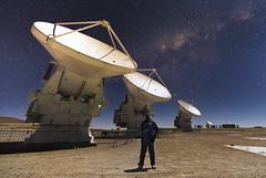 Astro Selfie (ansack) Tags: antennas alma astrophotography