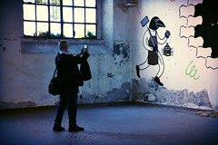 Gianni (Colombaie) Tags: ritratto gianni gianorso outdoor festival excaserma guidoreni 2016 flaminio arte contemporanea streetart decay uomo maschio fotografo click beyond honet francia roma life