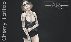 [AR2 Style] Cherry Tattoo POSTER (AR2 Style & !BaaaH! Store - Hipster Style) Tags: ar2style shinyshabby tattoo omega applier secondlife signaturegianni signature tmp themeshproject adam eve maitreya belleza classicavatar meshbody slink