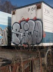 One of those spots.. (WayOf...) Tags: ass truck graffiti random reino 2013 kromi keino finstreetart