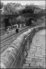 cobbles and rails (elisabethcturner) Tags: train tracks railway cobbles
