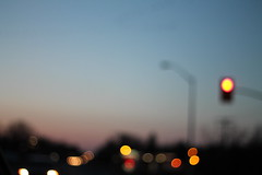 Bokeh Vision (smileyLife) Tags: street blue sunset portrait orange cars lens lights nice bokeh