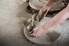 Senior woman hands making pottery ([ 117 Imagery ]) Tags: family woman tourism senior river shopping hands asia southeastasia handmade traditional culture craft visit tourist vietnam hoian pot souvenir clay pottery production tradition handcraft craftmanship touristdestination traveldestination quangnam quangnamdanang