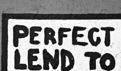 perfectly perfect. (jlehmann78) Tags: blackandwhite word blackwhite words perfect iowa 60mm drake desmoines d7000