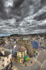 colour under cloud ... (John FotoHouse) Tags: city castle wales clouds cymru 1020mm hdr caernarfon dolan eagletower 2013 johnfotohouse canon7d