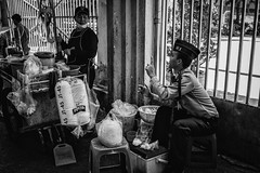 one more (udjinn) Tags: street bw food thailand availablelight bangkok candid streetphotography bkk hawkers vendors