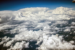 (grwhi065) Tags: mountains clouds plane flying scenic cumulus thunderstorm flickrandroidapp:filter=none