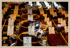 Les pices / Spices - Foire de l'ail et du basilic / Fair with garlic and basil (christian_lemale) Tags: foire fair ail garlic basilic basil tours touraine france nikon d7100 pices spices