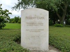 robert capa memorial, bayeux (Jane Catherine) Tags: robert capa robertcapa memorial bayeux