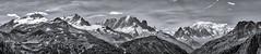 montblanc_final (Ralf Pelkmann) Tags: panorama montblanc france mountain europe glacier bw sw contrast nikon