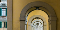 Corridoio Vasariano (Di_Chap) Tags: italie firenze tuscany corridoiovasariano toscane florence