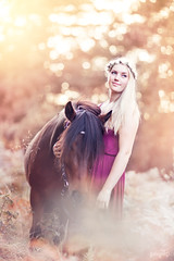 (ingrid.schnelle) Tags: canon eos 5d mark ii ef85mm f12l usm portrait girl dress pony horse equine equestrian horsephotographer friends equinephotographer horseportrait woman forrest woods nature outdoors outdoor nordlandshest lyngshest norge norway sunset dreamy fairytale bokeh dof summer summertime august 2016