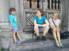 Avec Arthur et Régine