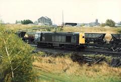 20209 Warrington Arpley 28th October 1986 (Skelton80s) Tags: 20209 warrington arpley 28th october 1986