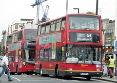 19 August 2016 Croydon (2) (togetherthroughlife) Tags: 2016 august croydon surrey bus pvl374 64 metrobus pj53nkl