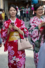 Modern Maikos (HansPermana) Tags: kyoto japan kiyomizu gion geiko geisha maiko kimono traditional colorful girls beautiful culture