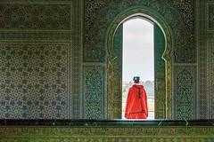 Moroccan Guard. (PS37Blue) Tags: tomb barat mausoleum hassanii morocco