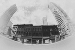 Yonge-Street-Vanishing (AroundMyTown) Tags: endangered threatened oldbuildings