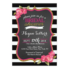 (Pink Gold Black White Bridal Shower Invitation) #Black, #Bridal, #Bride, #Classic, #Color, #Engagement, #Engagment, #Fancy, #Floral, #Flowers, #Gold, #Groom, #Hot, #Invittes, #Modern, #Party, #Pink, #Shower, #Sparkle, #Sparkles, #Sparkly, #Striped, #Stri (CustomWeddingInvitations) Tags: pink gold black white bridal shower invitation bride classic color engagement engagment fancy floral flowers groom hot invittes modern party sparkle sparkles sparkly striped stripes water watercolor wedding is available custom unique invitations store httpcustomweddinginvitationsringscakegownsanniversaryreceptionflowersgiftdressesshoesclothingaccessoriesinvitationsbinauralbeatsbrainwaveentrainmentcompinkgoldblackwhitebridalshowerinvitation weddinginvitation weddinginvitations