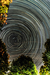 Aug 23, Startrails (alohadave) Tags: clearsky effects longexposure massachusetts night northamerica pentaxk5 places quincy sky startrails unitedstates smcpda1650mmf28edalifsdm