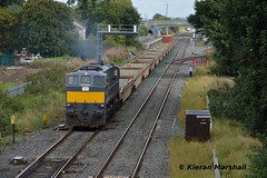084 departs Kildare, 22/9/16 (hurricanemk1c) Tags: railways railway train trains irish rail irishrail iarnrd ireann iarnrdireann kildare 2016 generalmotors gm emd 071 dfds detforenededampskibsselskab 084 1105ballinawaterford