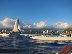 IMG_6830 (nautical2k) Tags: waikikibeachboys paddling outrigger canoe diamondhead honolulu oahu