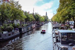 Amsterdam_1409_4253.jpg (Derek Robison) Tags: landscape canal places amsterdam boat houseboat