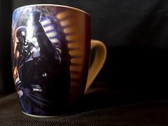 1140 - Mug (Diego Rosato) Tags: tazza cup mug darth vader fener sith lord signore lato oscuro dark side forza force stilllife fuji x30 gimp