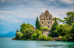 Yvoire Castle (Mivr) Tags: france yvoire castle palace fort ancient dramatic sea fortess old historic medieval