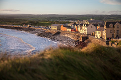 Lahinch Sunset (ronlyn77) Tags: clare ireland lahinch wild atlantic way sunset